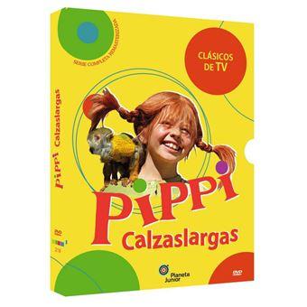 Astrid Lindgren's Pippi Longstocking (Pippi Långstrump) (Pippi Langstrumpf) / Pipi Calzaslargas, Serie Completa (Im. Restaurada) (3DVD)