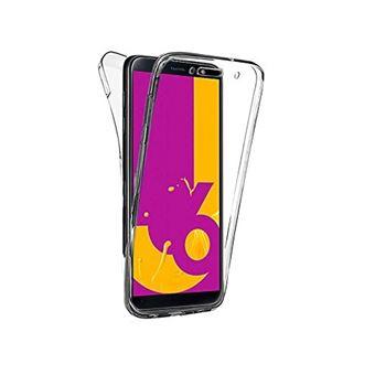 Capa 360º dmobile para Samsung Galaxy J6 | Frente e Verso | Dupla | Silicone / Gel