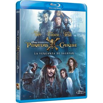 Piratas Del Caribe: La Venganza De Salazar / Pirates of the Caribbean: Dead Men Tell No Tales (Blu-ray)