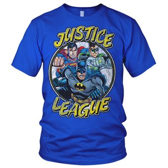 T-shirt Justice League Team | Azul | S