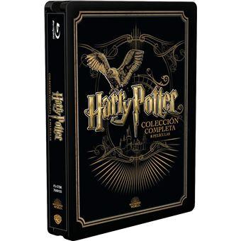 Harry Potter - Complete Golden Steelbook 2019 (8Blu-ray)