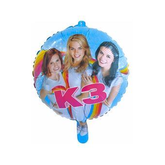 Studio 100 Folieballon K3: 45 cm Multi cor