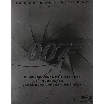 Pack James Bond - Volume 23 (3Blu-ray)