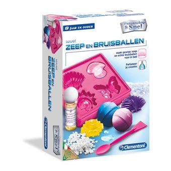 Conjunto de Ciência e Brinquedos Clementoni 66771 Zeep en Bruisballen