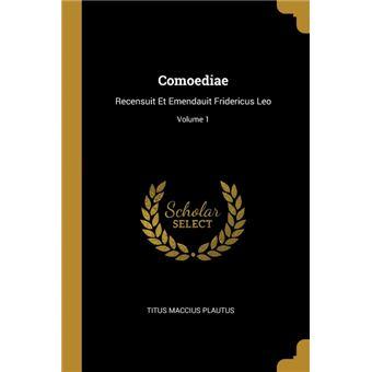 comoediae Paperback -