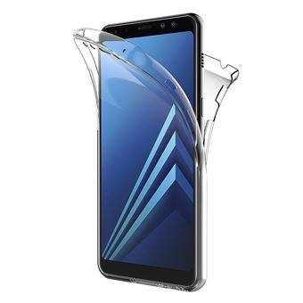 Capa dmobile para Samsung Galaxy A8 2018 (A530) 360° Frente & Verso Dupla em Gel / Silicone
