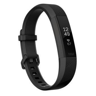 Fitbit Alta HR Rastreador de atividade para pulso Preto, Inox OLED