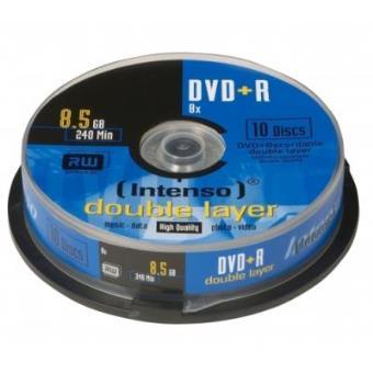 Intenso Dvd R 8 5gb Dl 8x Dvd Virgem Compra Na Fnac Pt