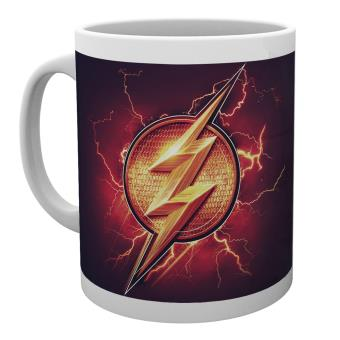 Caneca GB Posters Justice League Movie Flash Logo 30 cl