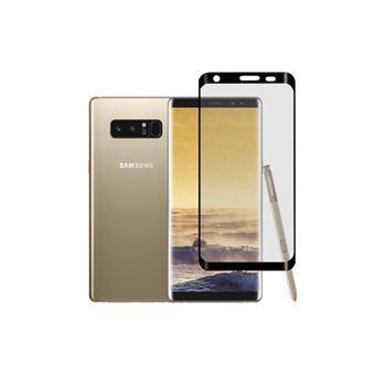 Película Ecrã Vidro Temperado Accetel para Samsung Galaxy Note 8 Completa Full 3D Preto