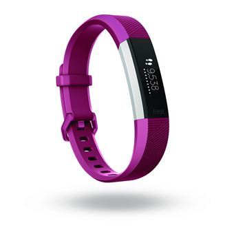 Fitbit Alta HR Rastreador de atividade para pulso Fúcsia, Inox OLED