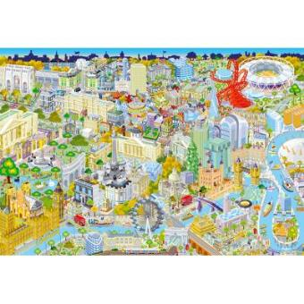 London From Above Jigsaw Puzzle 500 Pieces Gibsons Games