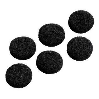 Hama 122682 almofada de auscultadores Preto Espuma 6 peça(s)