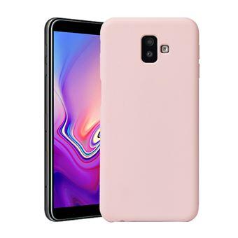 Capa Magunivers TPU macio e sedoso rosa para Samsung Galaxy J6 Plus