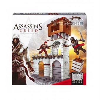 Fortaleza para Constrir Mattel Assassin's Creed Ataque à Fortaleza Mega Bloks 314 Peças