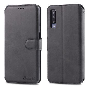 Capa PU preto para Samsung Galaxy A50