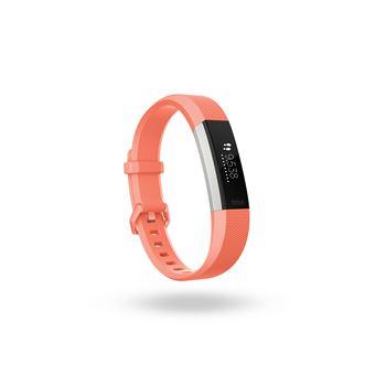 Fitbit Alta HR Rastreador de atividade para pulso Coral, Inox OLED
