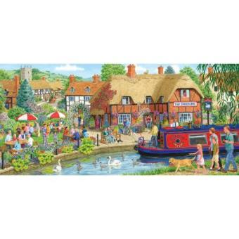 Lunch At The Swan Jigsaw Puzzle 636 Pieces Gibsons Games