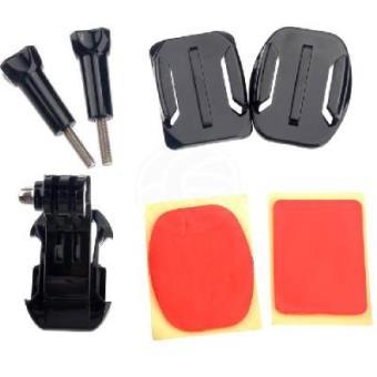 Kit de fixação de adesivo para a Câmara GoPro HD HERO 1 2 3 ST19