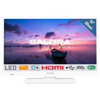 "TV Salora ELED 24HDW6515 24"" Branco"