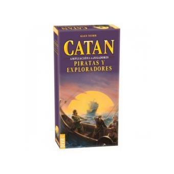 Piratas e Explorers Catan Exp. 5 e 6 pl