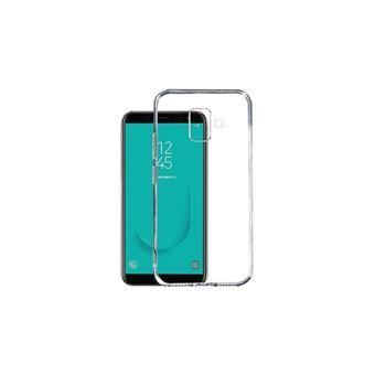 Capa Li-RK de Gel Transparente + Película de Vidro Temperado para Samsung Galaxy J6 Plus 2018