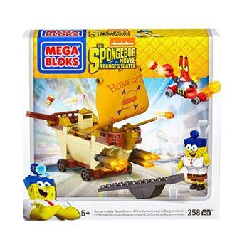 Construção Carro Hambúrguer Mattel Bob Esponja Mega Bloks