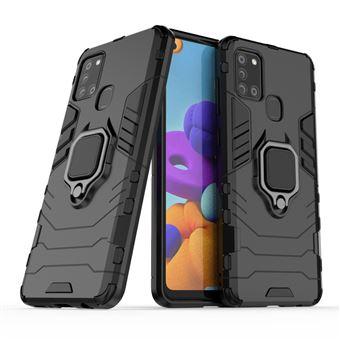 Capa Phonecare Military Defender Ring Anti-Impacto para Samsung Galaxy A21s - Preto