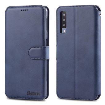 Capa PU azul para Samsung Galaxy A50