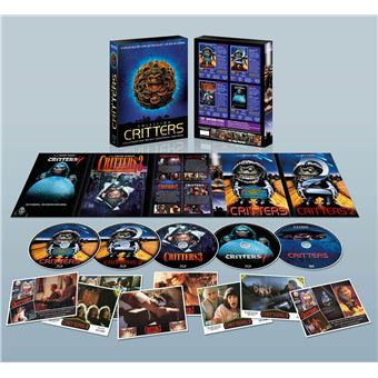 Critters BD 1-2-3-4 + DVD de Extras (5Blu-ray)