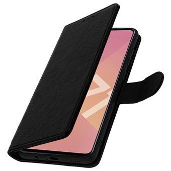 Capa Avizar para Samsung Galaxy A71 | Livro | Carteira | com Suporte | Preto