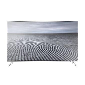 "Smart TV Samsung QLED 4K UHD UE55KS7500U 55"" Prateado"