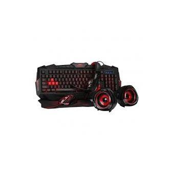 Teclado Gaming Woxter Stinger FX 80 Megakit Pro Preto