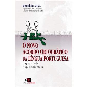 Livro Novo Acordo Ortográfico da Língua Portuguesa