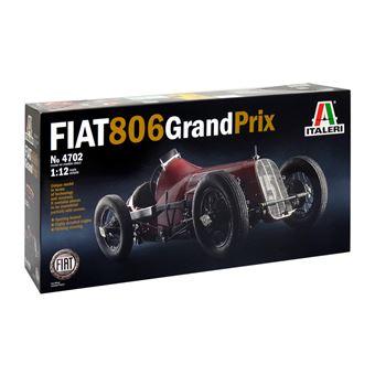 Italeri 4702 Kit de montagem Modelo de carro desportivo 1:12 Preto e Multi cor e Vermelho