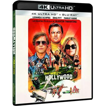 Once Upon a Time in... Hollywood / Erase una Vez…en Hollywood (4K UHD + BD) (2Blu-ray)