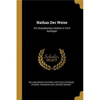 nathan Der Weise Paperback -