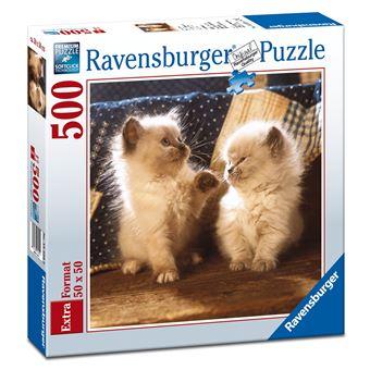 Ravensburger 15220 - Puzzle Pequenos Gatos Persa Himalaias 500 Peças