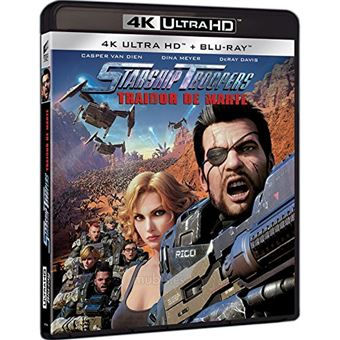 Starship Troopers: Traitor of Mars / Starship Troopers Traidor De Marte (2Blu-ray)
