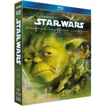 Star Wars -Trilogy Episodios I-III (2011) (3Blu-ray)