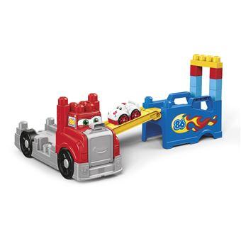 Camião de Choques de Brincar Mattel Build and Race Mega Bloks