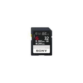 cartão de memória Sony SF-G UHS-II 32 GB 32GB SD UHS-II Class 10  Preto
