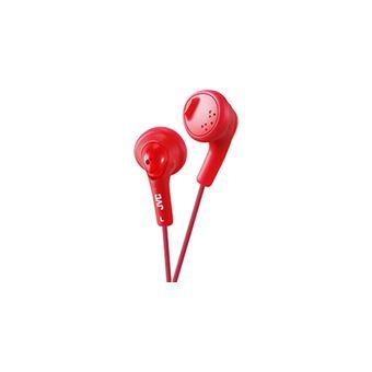 Auriculares JVC Gumy Vermelho