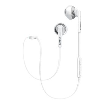Auriculares Philips Shb5250Wt/00 Bluetooth Blanco