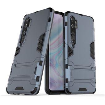 Capa Magunivers para Xiaomi Mi CC9 Pro/Note 10 | TPU | híbrido | Muleta - Azul escuro