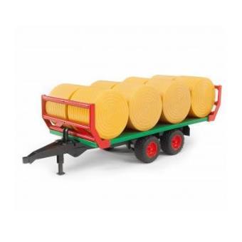 Trailer de Transporte BRUDER 02220 com Barris