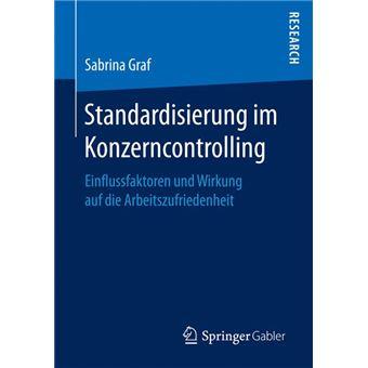 Standardisierung Im Konzerncontrolling