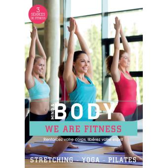 mind and body - yoga - pilates - stretching (DVD)