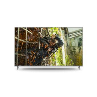 "Smart TV Panasonic 4K UHD TX-55GXW904 55"" Prateado"