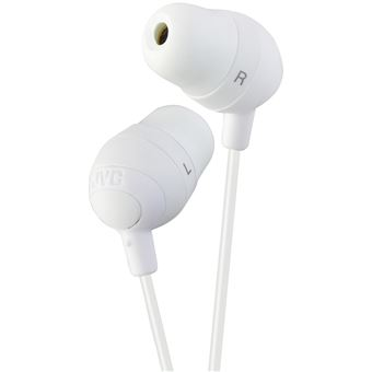 Auriculares JVC Marshmallow Branco